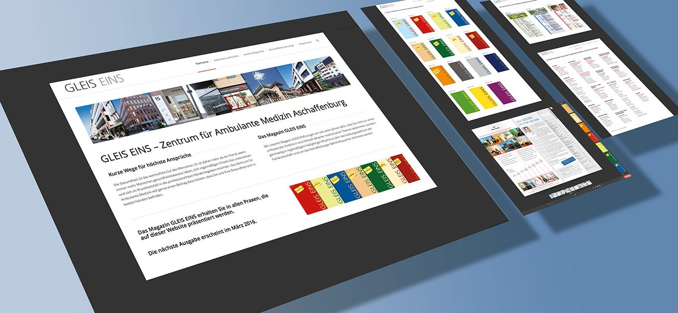 Responsives Design. Optimierte Darstellung der Inhalte auf allen mobilen Endgerät und integriertes Content Management Systems (CMS)